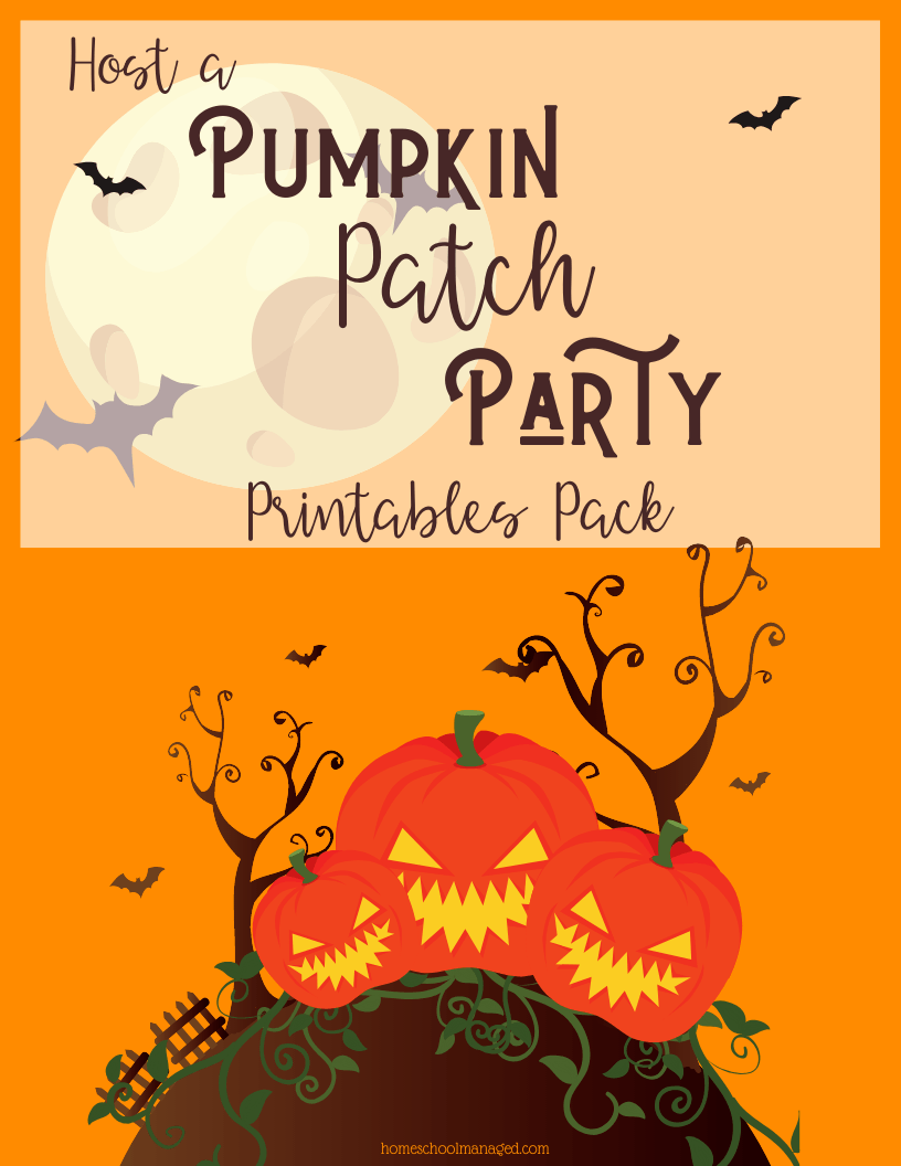 host a pumpkin patch party printable pack