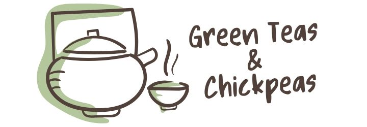 green teas and chickpeas logo