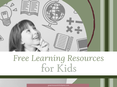 Free Learning Resources While Your Kids Are Stuck At Home