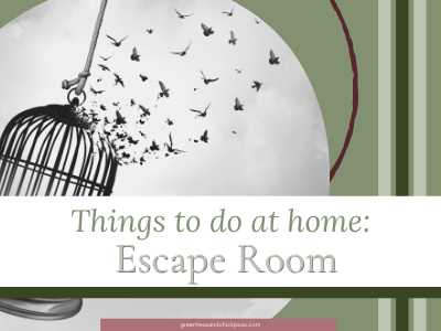Things To Do At Home Escape Room