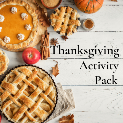 Thanksgiving Activity Packet to Keep Your Guests Delighted
