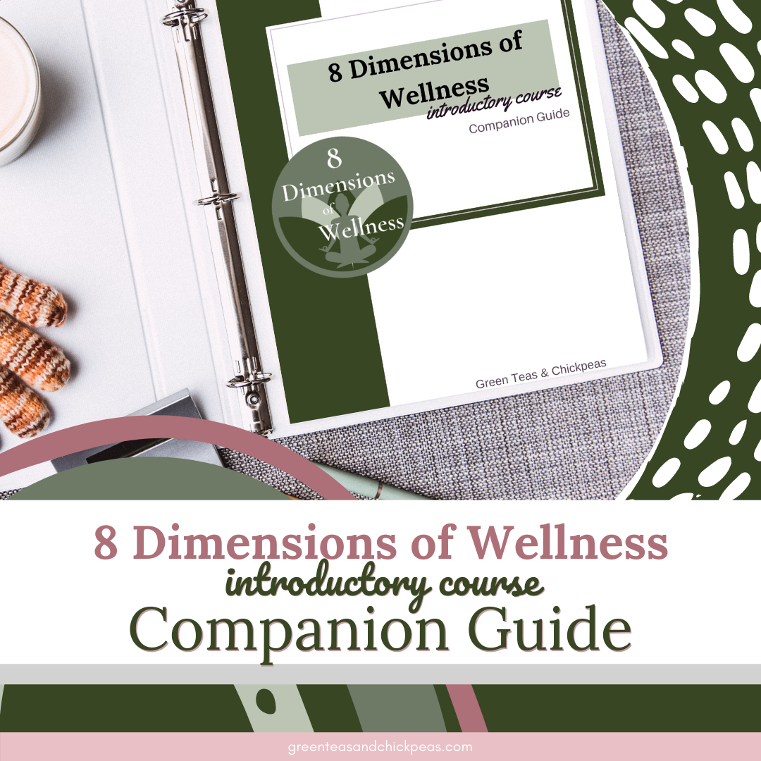 8 dimensions wellness course companion