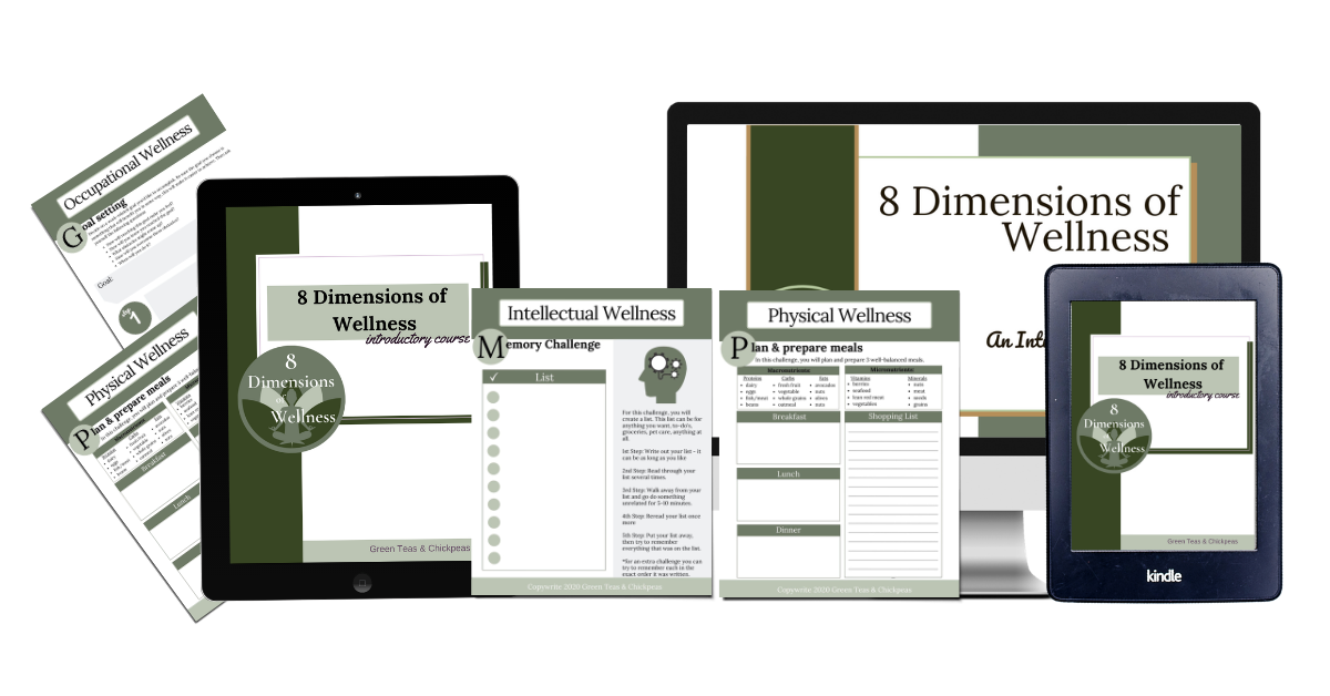 8 dimensions of wellness introductory